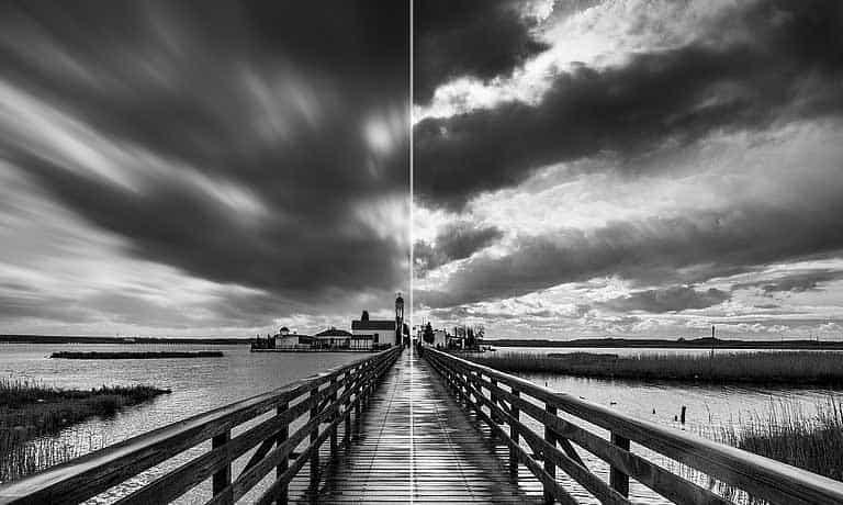 Κινηση Ουρανού με το Photoshop σε Τοπία