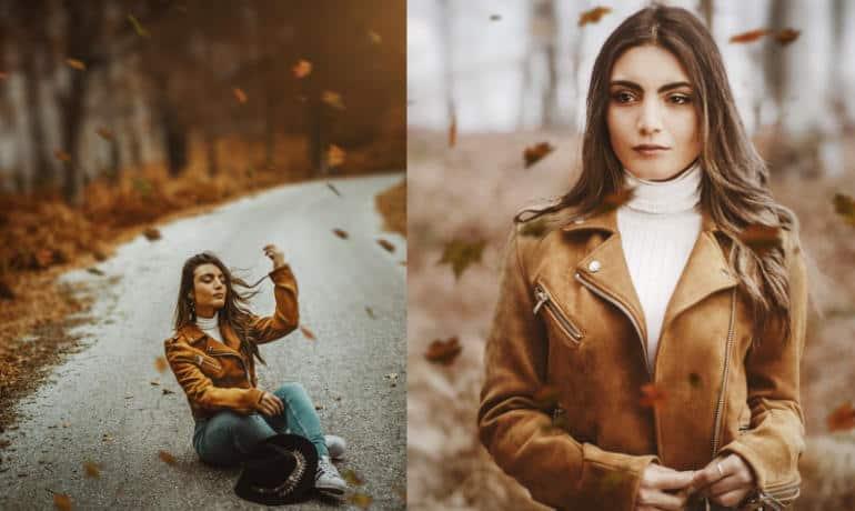Φωτογράφιση και ποζάρισμα πορτραίτου με φυσικό φωτισμό